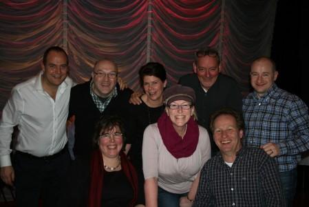 Jeremy Dorling, Dave Playford, Desiree Dorling, Rob Lammeree, Keith Fletcher, Regina Playford & Rick Busbridge.