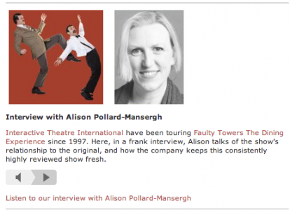 alison pollard-mansergh, paul levy, fringe review
