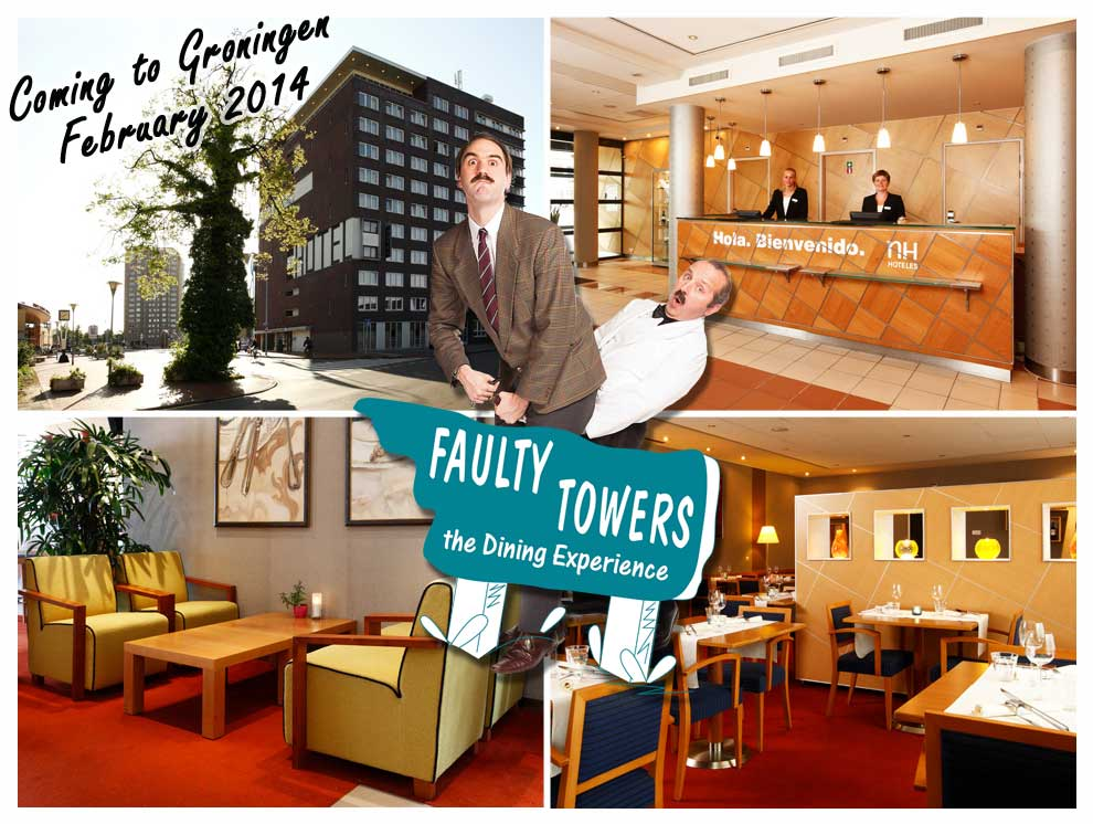 groningen, fawlty towers, faulty towers, netherlands