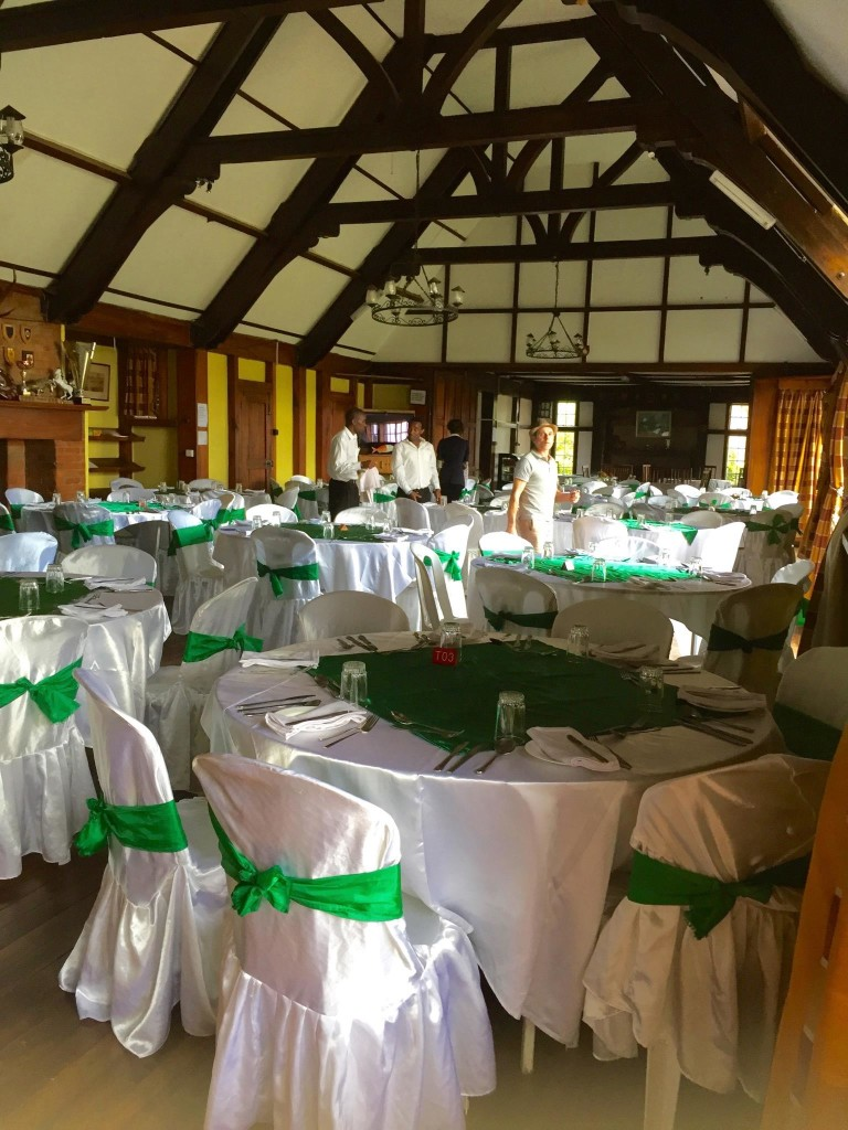 - Nanyuki Country Club_set for dinner